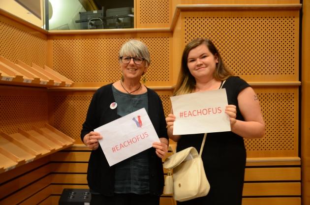 MEP Julie Ward & Nikki Mattocks